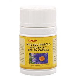 Tasly Miss Bee Propolis & Water Lily Pollen Capsule